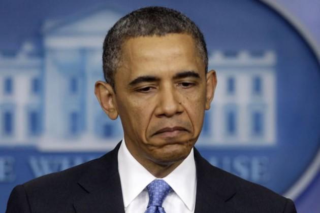 Рейтинг Обамы опустился до рекордно низкого уровня