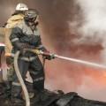 В Актау возник пожар в многоэтажке