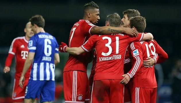 «Бавария» выиграла первенство Германии