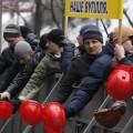 Шахтеры вышли на митинг в Киеве