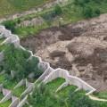 Селевой поток в Талгаре перехвачен селезащитной плотиной