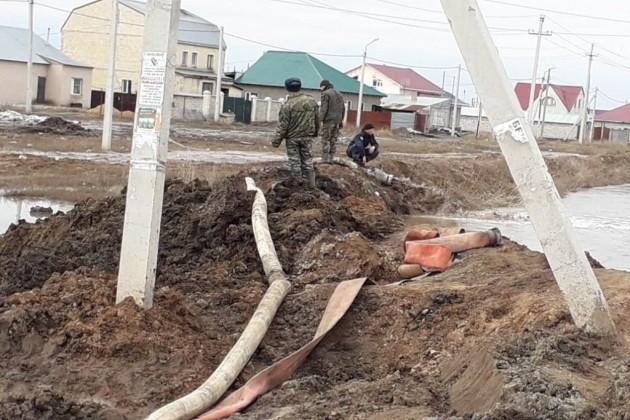 В Восточно-Казахстанской области под угрозой подтопления 128 домов