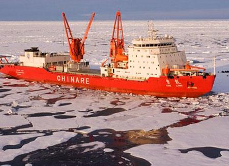 Китай планирует начать добычу углеводородов в Арктике