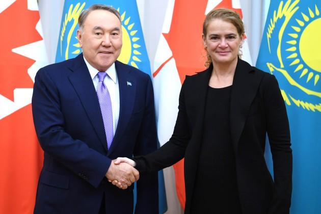 Президент встретился сгенерал-губернатором Канады