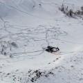 Появились фото сместа крушения вертолета вВосточном Казахстане
