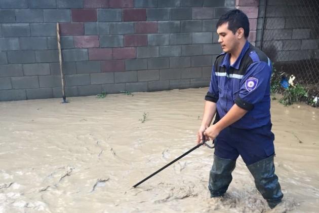 В ДЧС Алматы поступило 108 обращений о подтоплениях