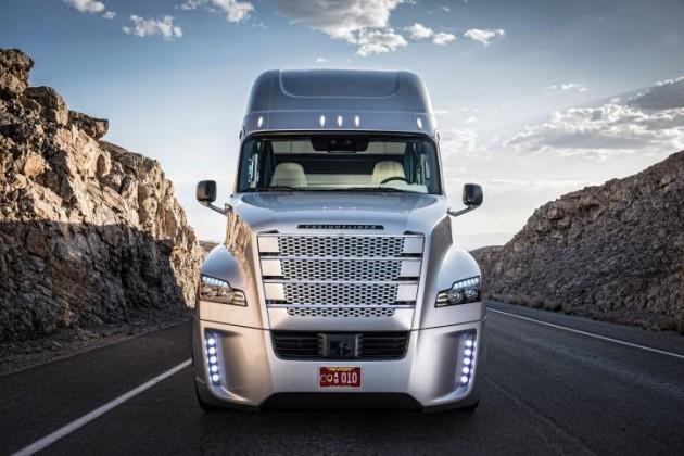 Daimler выделяет 500 млрд евро на беспилотные грузовики