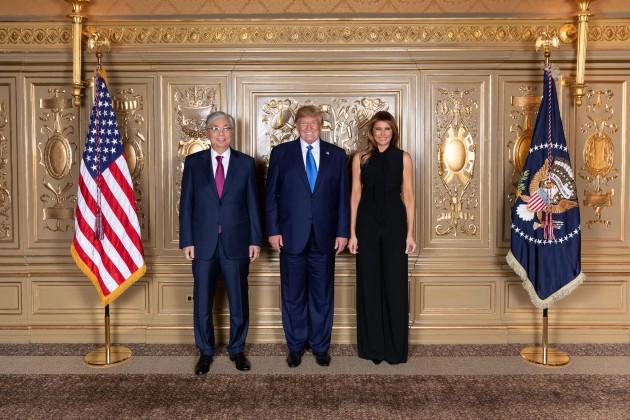 Какие вопросы обсудили Касым-Жомарт Токаев и Дональд Трамп