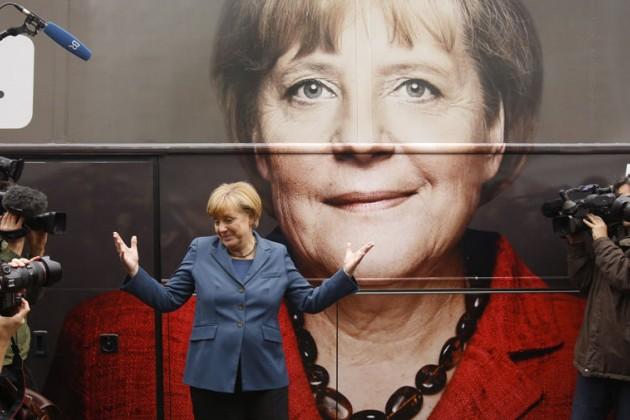 Ангела Меркель объявила обуходе споста канцлера