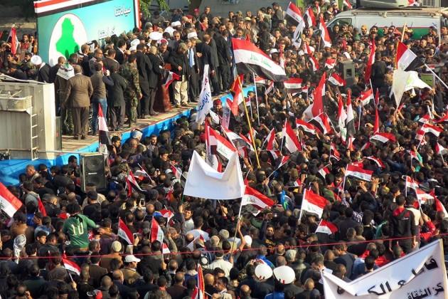 Массовые протесты проходят встолице Ирака