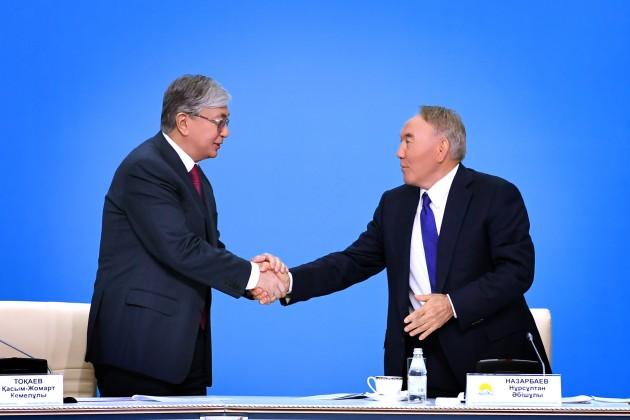 Елбасы предложил выдвинуть на выборы кандидатуру Касым-Жомарта Токаева