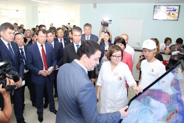 ВАстане открылась модернизированная поликлиника