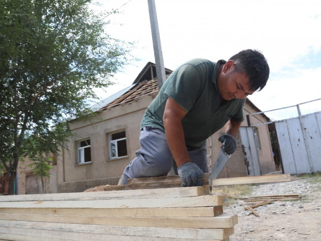 150 тысяч тенге в месяц могут получать арысцы, участвуя в восстановлении города