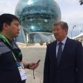 Ахметжан Есимов ответил Алмазбеку Атамбаеву