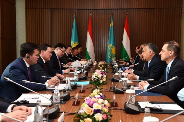 Казахстан и Венгрия будут наращивать объемы взаимной торговли