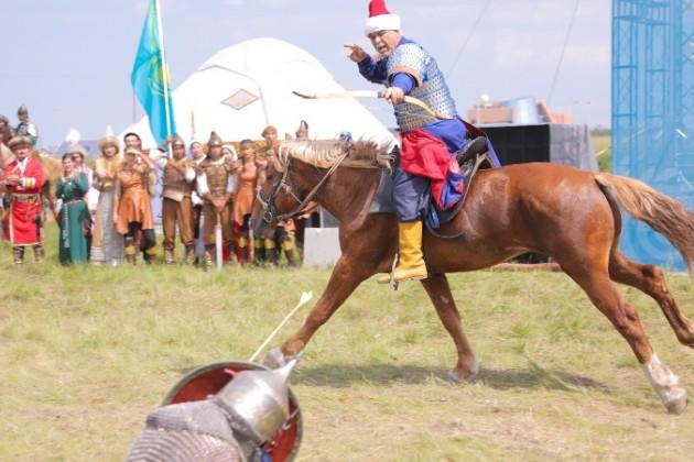 Международный фестиваль культуры кочевников проходит вАстане
