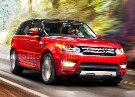Первые официальные фото Range Rover Sport