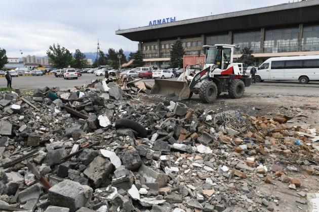 Алматинский ипподром ивокзал Сайран возьмут под особую охрану