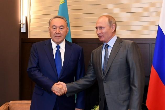 Лидеры Казахстана иРоссии обсудили вопросы сотрудничества