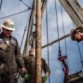 Цена нефти WTI упала ниже $45за баррель