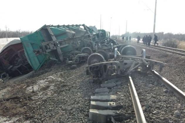 Засошедшие вагоны вЖамбылской области Евразия выплатила 30млн тенге