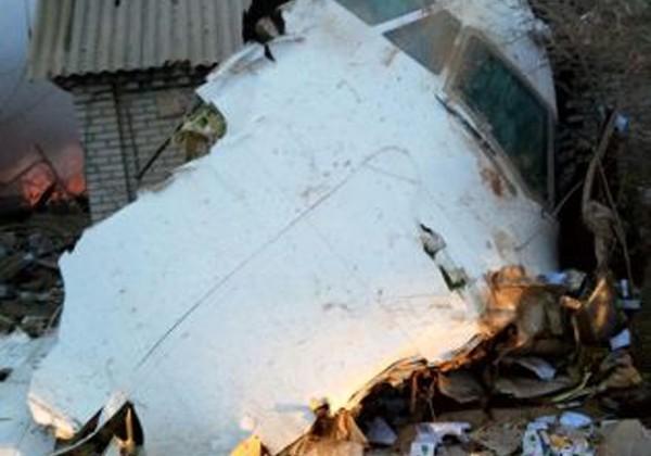 Турецкий грузовой самолет упал надачи под Бишкеком