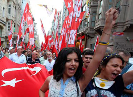 Оппозиция Турции может создать коалицию против правительства