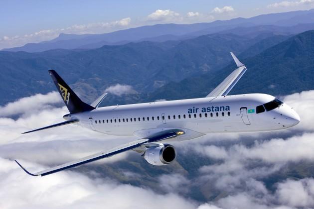 Air Astana отмечает 15-летний юбилей