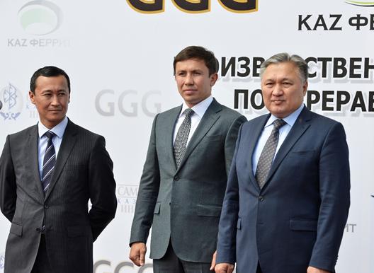 Геннадий Головкин стал соучредителем фабрики в Караганде