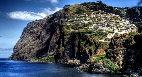 Мадейра. Мыс Кабу Жиран