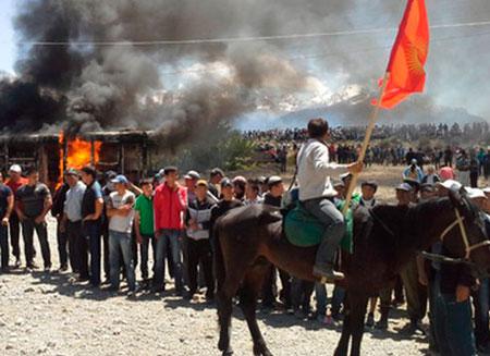 В Кыргызстане отменили режим чрезвычайного положения