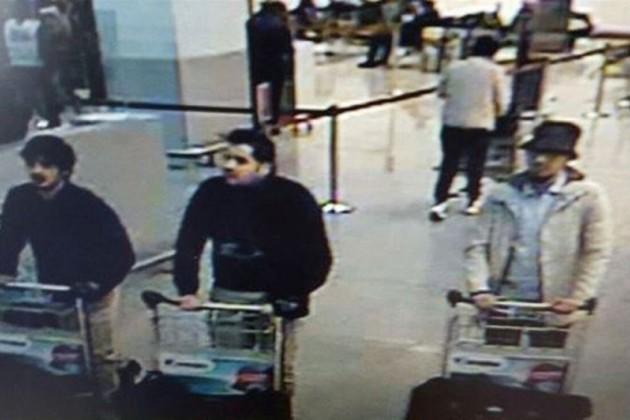 Названы имена исполнителей терактов в столице Бельгии
