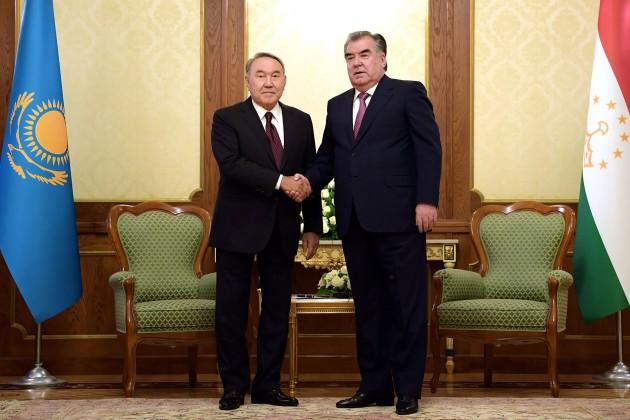 Нурсултан Назарбаев: Мывсегда оказывали помощь иподдержку Таджикистану