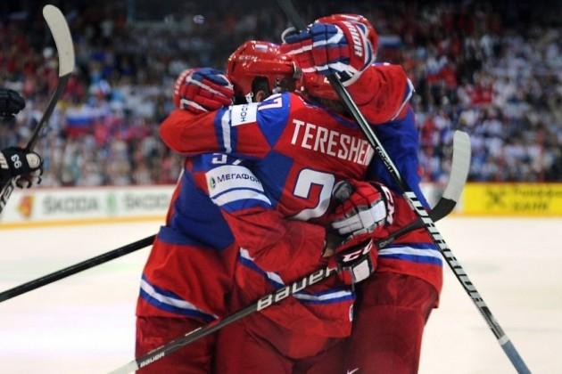Россия переиграла Австрию на ЧМ по хоккею