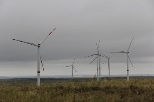 Первый вРК ветропарк выработал более 500млн кВт⋅ч