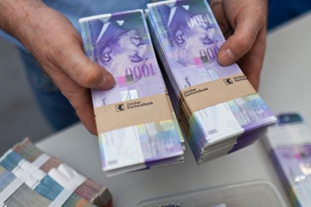Нацбанк Швейцарии потерял рекордные $23 млрд