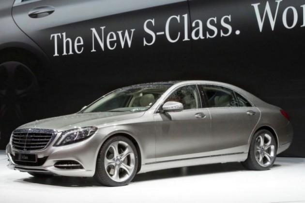 Новый Mercedes-Benz S-Class официально