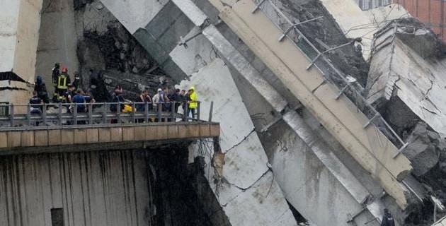 Реконструкция моста вГенуе обойдется в200млневро