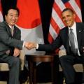 Обама попросит Японию поддержать санкции к РФ