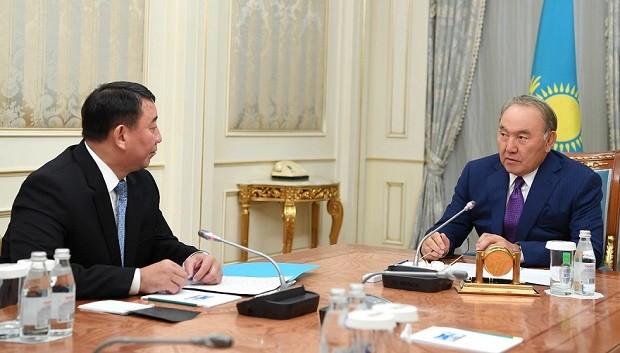 Президенту доложили оработе службы «Сырбар»