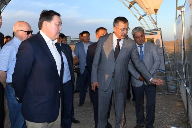 Аскар Мамин поручил подготовить Генеральный план Туркестана
