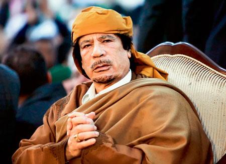 Ливия вышла на след золота Каддафи