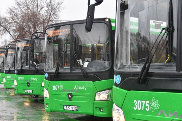 Акимат Алматы расторг договор с Green Bus