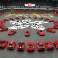Флешмоб от Ferrari