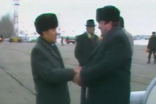 Акорда опубликовала видео исторической встречи