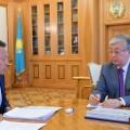 Сауат Мынбаев доложил о развитии железнодорожного транспорта