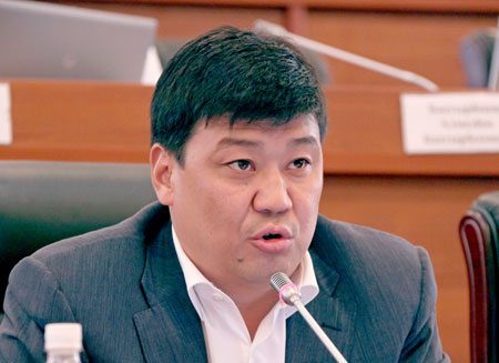 Вице-спикер парламента Кыргызстана сложил полномочия