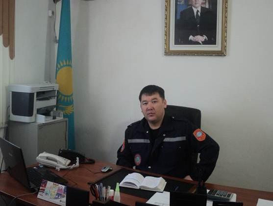 В Атырау задержан глава аэромобильного отряда МЧС