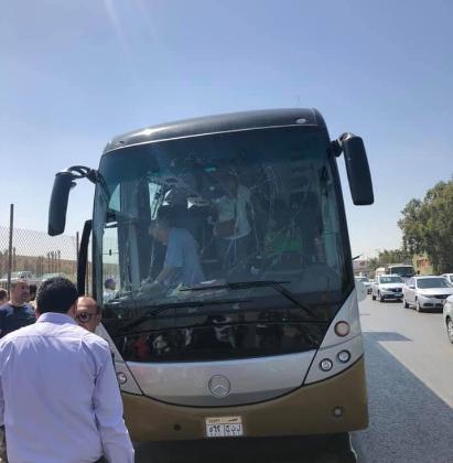 Туристический автобус подорвали в Египте