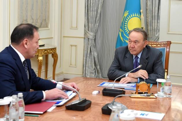 Нурсултан Назарбаев дал поручения Ералы Тугжанову
